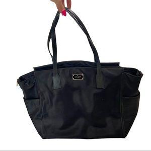 Kate Spade | Black Nylon Large Tote Shoulder Bag